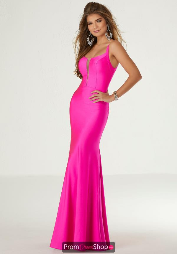Morilee Long Jersey Dress 45047