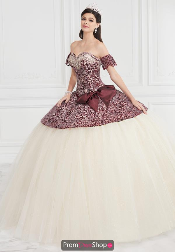 Tiffany Long Ball Gown Quinceanera Gown 24065