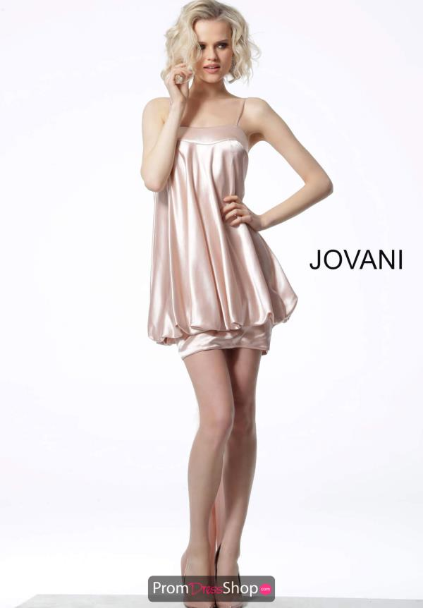 Jovani Short Draped Dress 66431
