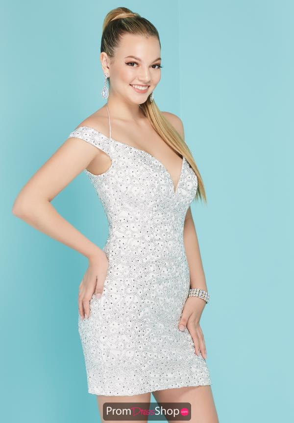 Tiffany Short Beaded Dress 27285