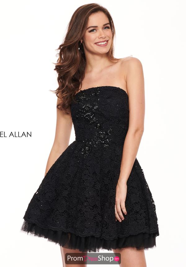 Rachel Allan Strapless Short Dress L1231