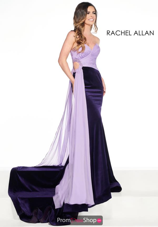 Prima Donna Fitted Chiffon Pageant Dress 5083