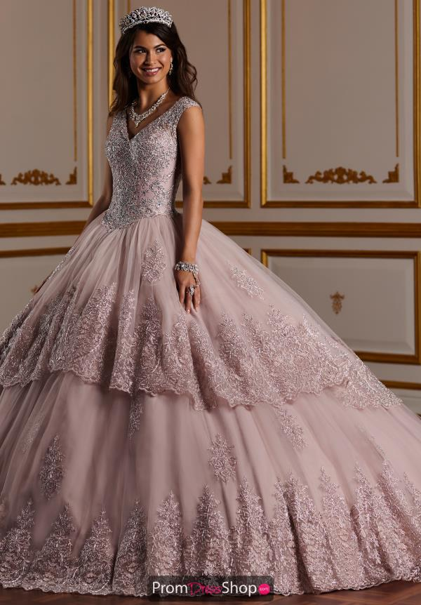 Tiffany Quinceanera V- Neckline Ball Gown 26927