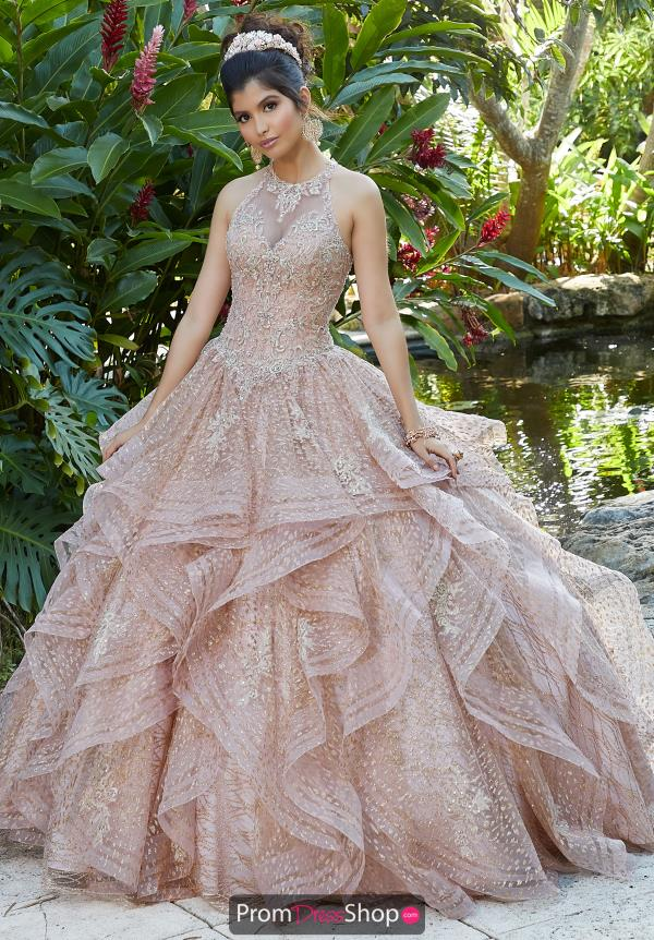 Vizcaya Quinceanera Lace Back Ball Gown 89257