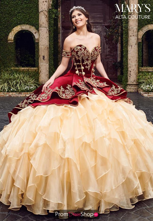 Mary's Off the Shoulder Ball Gown MQ3037