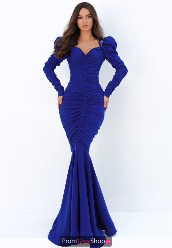 Tarik Ediz Fitted Mermaid Dress 93883