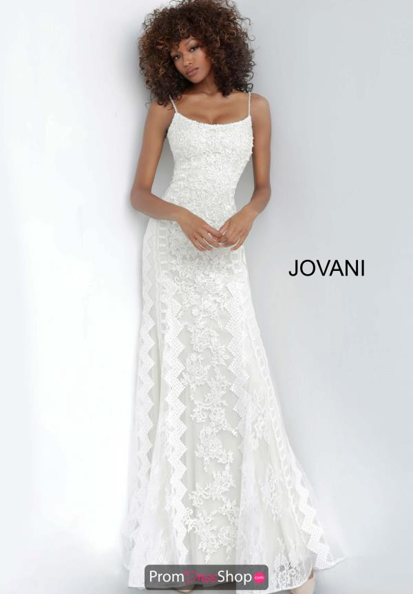 Jovani Beaded Lace Dress 00862