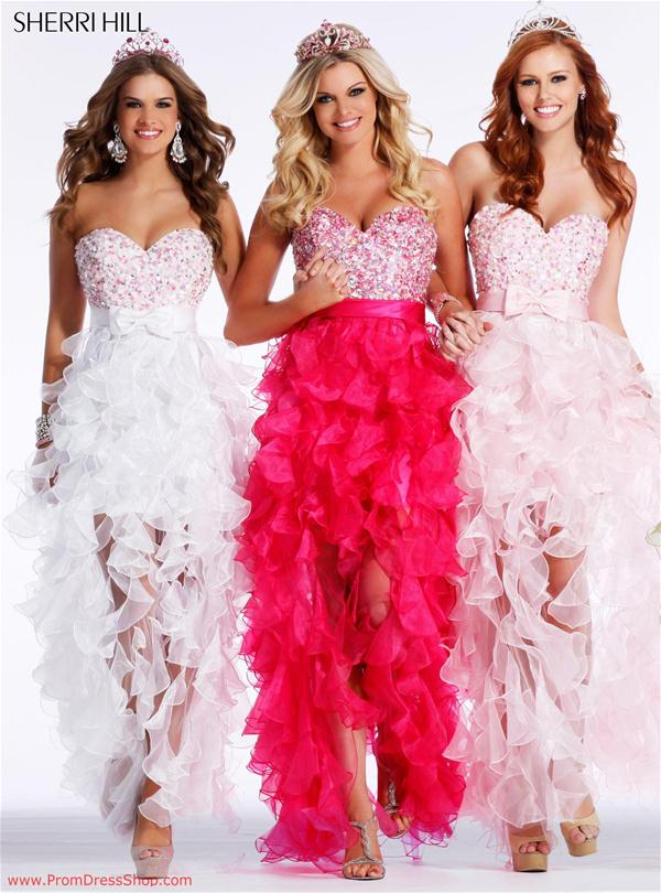 Sherri Hill High Low Party Dress 2415