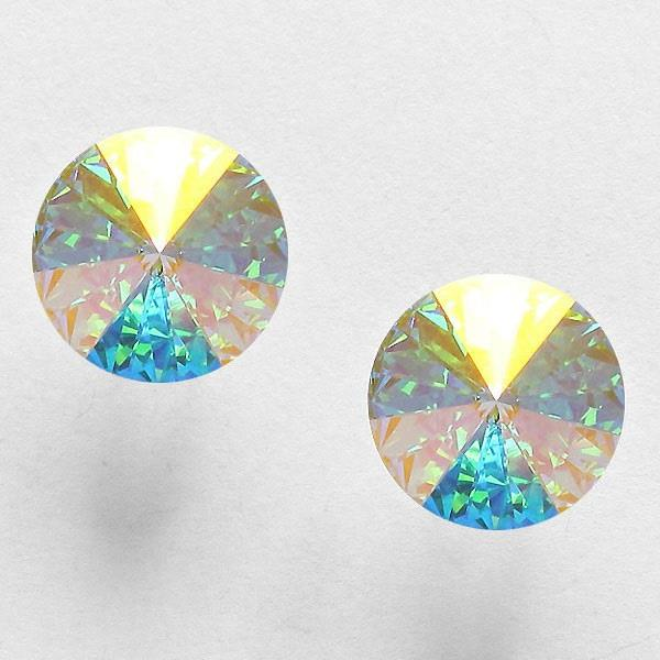 Iridescent Sparkling Single Stud
