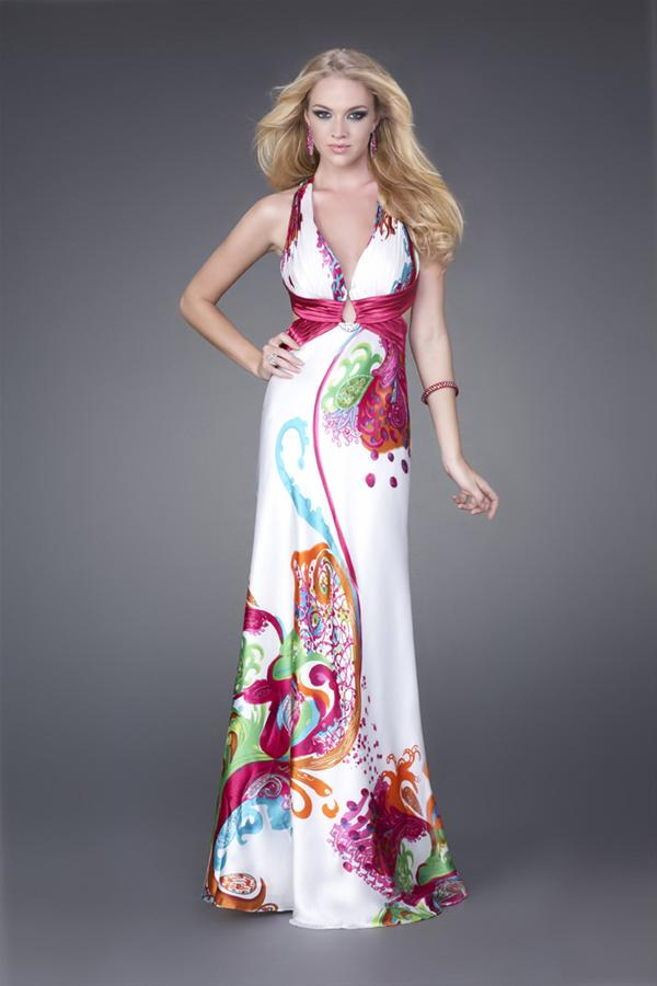 Clearance Long La Femme Dress 15199