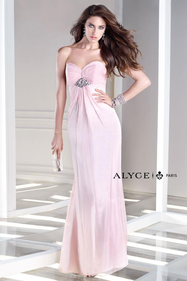 B'Dazzle Strapless Long Dress 35709