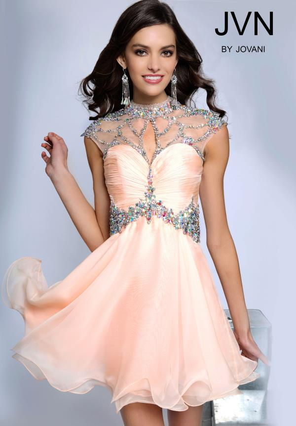 JVN by Jovani Beaded Dress JVN90399