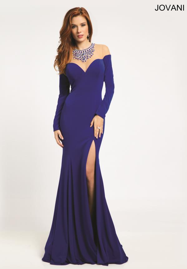 Jovani Jersey Fitted Dress 21039