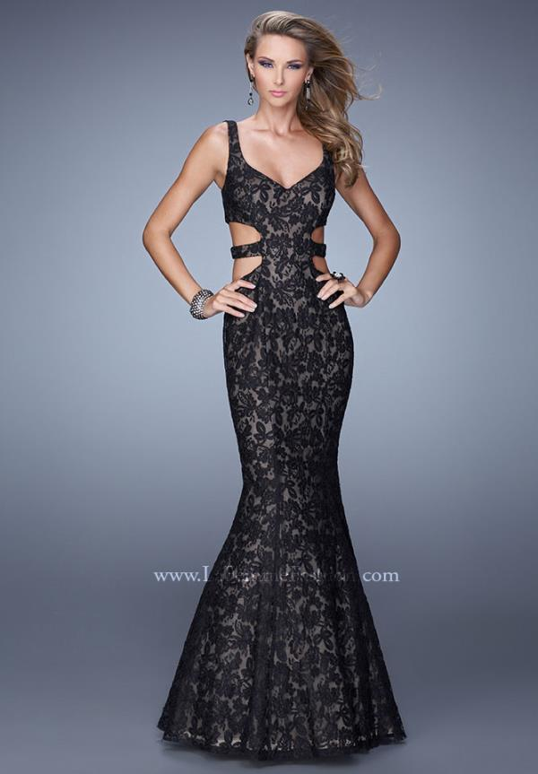 Bold Mermaid La Femme Dress 20824