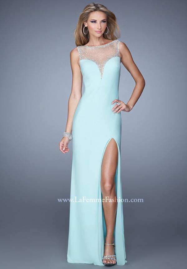 La Femme Sexy Long Dress 21020