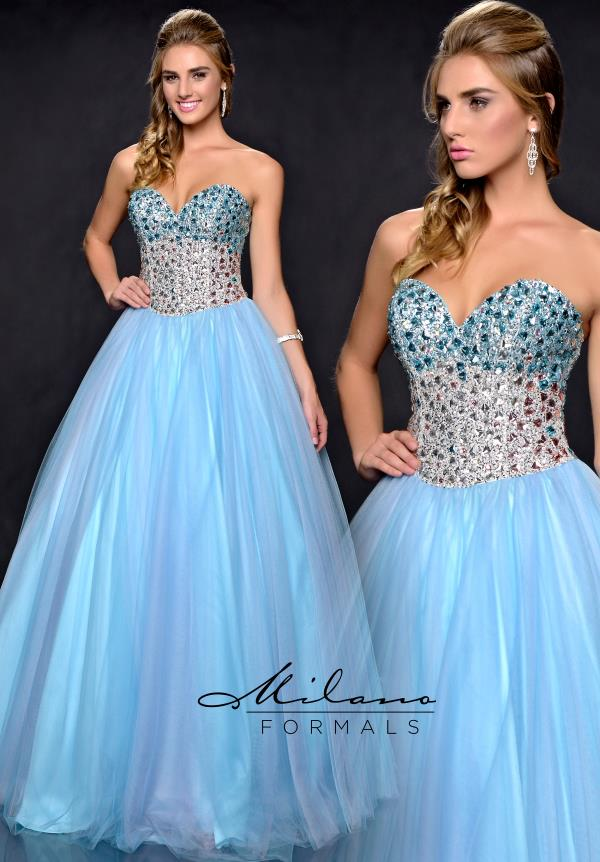 Milano Formals Dress E1715 | PromDressShop.com