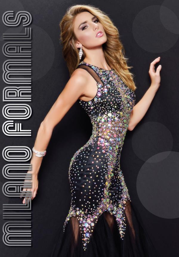 Milano Formals Fitted Mermaid Dress E1736