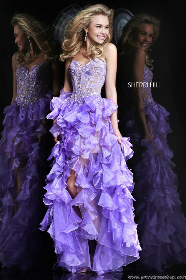Sherri Hill High Low Dress 11093