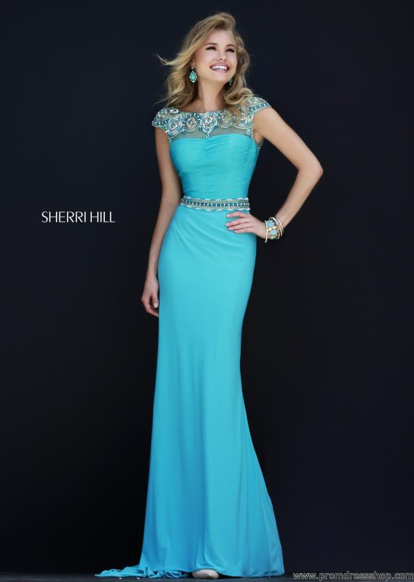 Sherri Hill Long Fitted Dress 32026