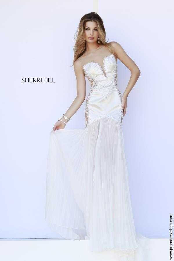 Fitted Sexy Back Sherri Hill Dress 32160