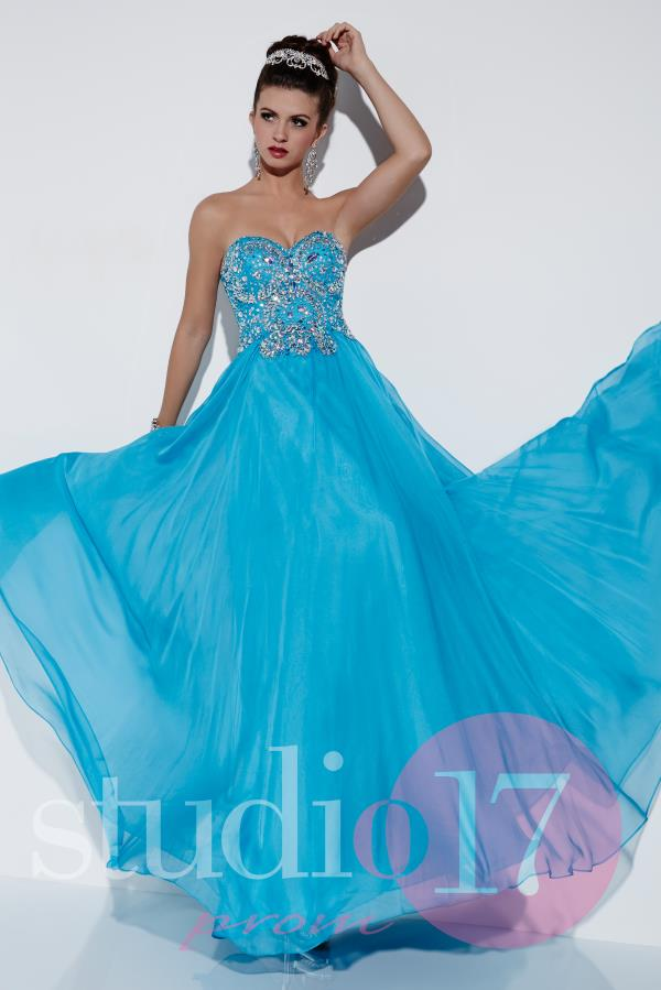 Studio 17 Beaded A Line Dress 12525
