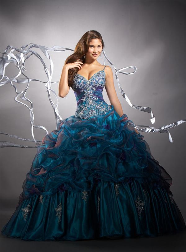 Tiffany Organza Ball Gown Dress 26644