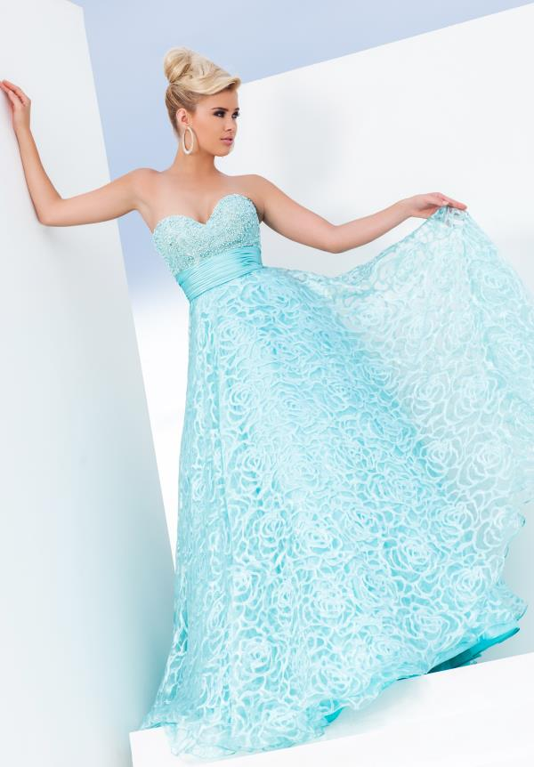 Tony Bowls Le Gala Strapless Dress 115550