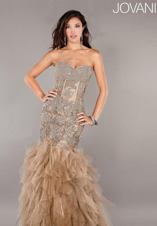 Jovani Sweetheart Mermaid Dress 1267