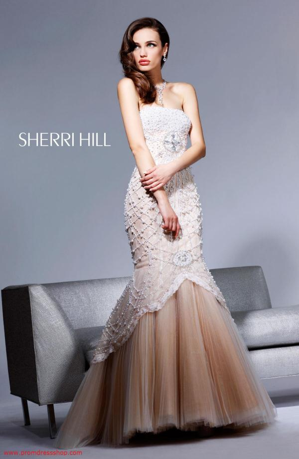 Amazing Long Sherri Hill Dress 2789