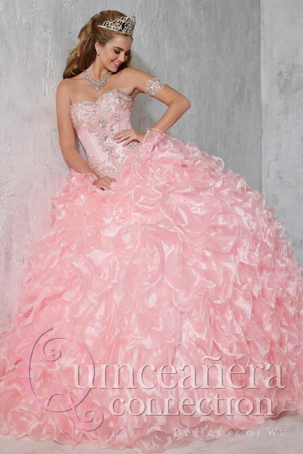 Tiffany Quince Beaded Ball Gown 26784