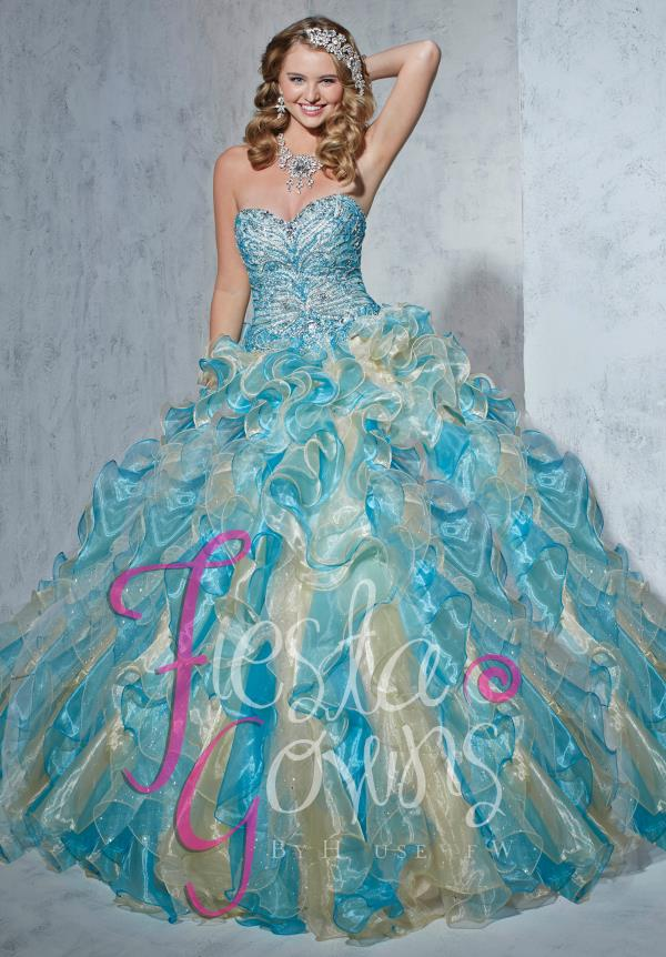 Tiffany Fiesta 56251 Beaded Bodice Dress