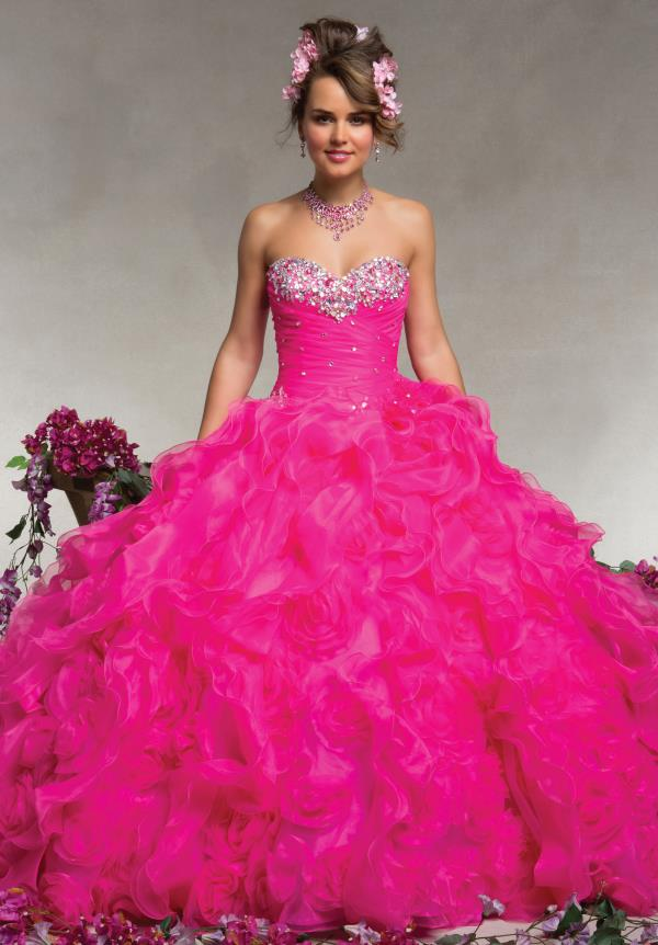 88070 Princess Vizcaya Quinceanera Dress