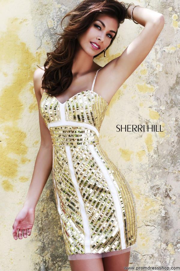Sherri Hill Short Dress 9726 | PromDressShop.com
