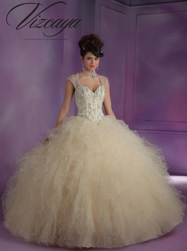 Vizcaya Quinceanera Two Straps Dress 89010