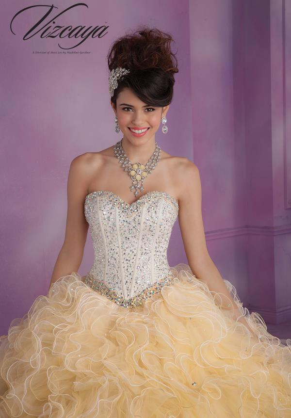 Stunning Vizcaya Quinceanera Dress 89016