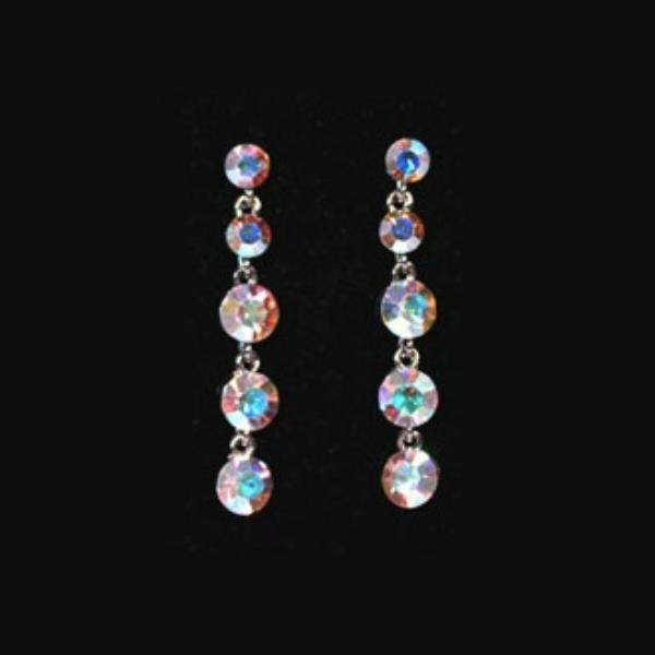 Iridescent Earrings style CE487