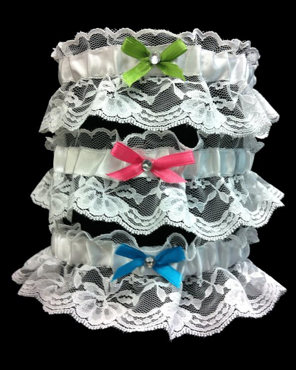 Prom One Size Fits All Lace Garter