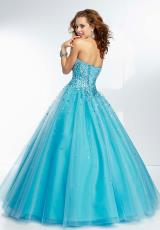 Mori Lee 95065.  Available in French Blue, Mint, Pink Panther