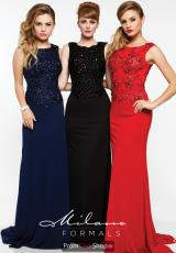 Navy, Black, and Red