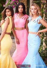 Yellow, Candy Pink, Light Blue