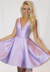 86cee4e2a0 Home · Dresses · Designers · Sherri Hill Short  15552179. Red  Lilac ...