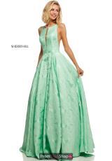 75ae4d5a924 Lilac. 1 of 16. Sherri Hill A Line Brocade Dress 51703