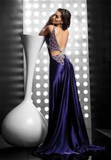 Jasz Couture 4067.  Available in Eggplant, Fuchsia, Orange