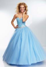 Mori Lee 95102.  Available in Aqua, Bahama Blue, Ballet Pink, BubbleEX, CapriEX, ChampagneEX, Daisy, MintEX, OrangeburstEX, ToxicEX