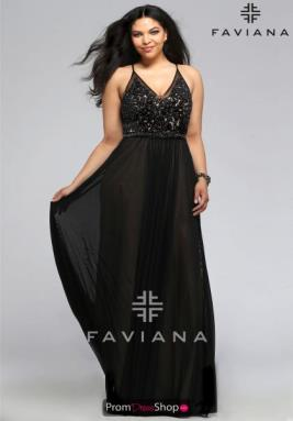 Faviana Dress 9373