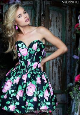 Sherri Hill Short Dress 50146