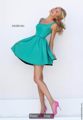Sherri Hill Short Dress 50330