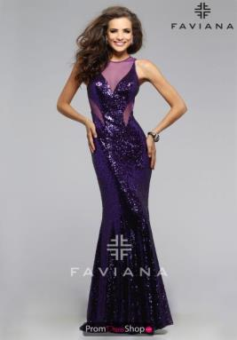 Faviana Dress 7331