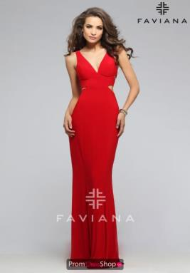 Faviana Dress 7541
