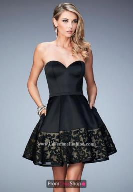 La Femme Short Dress 22330